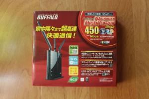 WZR-HP-G450Hの箱