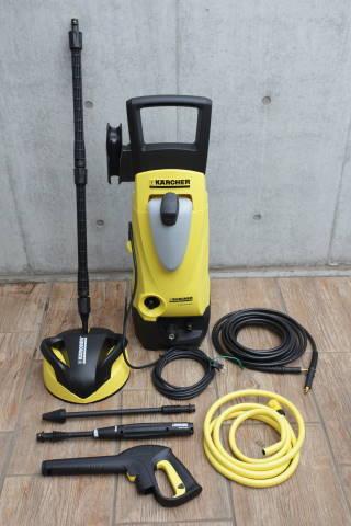 ケルヒャー家庭用高圧洗浄機 K4.00+テラスクリーナー T250セット 50Hz 9.548-194.0