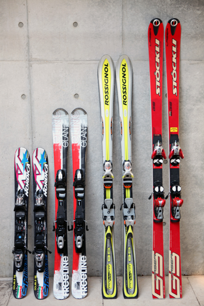 6年ぶりにスキーを買った。