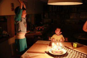 おめでとう~ 5才誕生日