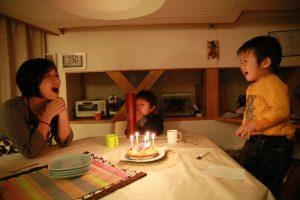 おめでとう~ 2才の誕生日!