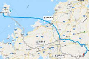 夏休みの計画 九州 長崎県壱岐島と大分県スノーピーク